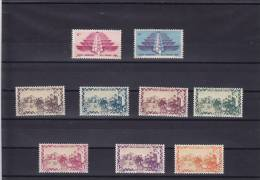 Lebanon  Free French Forces In Levant(used In Both Countries) 1942-cpl.set Post+air 7v.MNH Superb-SKRILL PAY ONLY - Lebanon