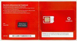 Germany - Vodafone - Willkommen 2 GSM SIM Mint - Germany