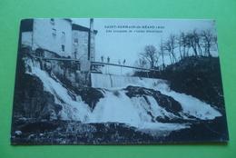 C P A ---01---- ST-GERMAIN-de-BEARD------les Cascades De L'usine électrique . - Francia