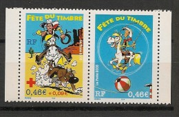 France - 2003 - N°Yv. P3547A - Lucky Luke -  Paire De Carnet - Neuf Luxe ** / MNH / Postfrisch - France