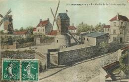 PARIS MONTMARTRE LE MOULIN DE LA GALETTE   EDITION G.C.A. - District 18