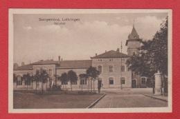 Sarreguemines  --  Bahnhof  --  Cachet Res Lazarett - Sarreguemines