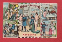 Gruss Aus Der Musterung  --  Stempel Wansbek  1913  --  Pliée - Humour