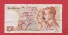 Belgique  --  50 Francs 16/05/1966  --  Etat  TB - [ 2] 1831-... : Belgian Kingdom