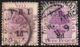 04549 Orange River 23/24 Pé De Laranja U - Südafrika (...-1961)