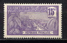 GUADELOUPE - 60* - MONT HOUELMONT - Guadeloupe (1884-1947)
