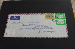 497. Letter Libye Tripoli-Yugoslavia Airmail - 1945-1992 Socialist Federal Republic Of Yugoslavia