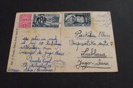 502. Letter Sibinj(Sibiu)-Ljubljana - 1919-1929 Königreich Der Serben, Kroaten & Slowenen