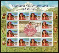 COLOMBIA 2002.08.01 [2207-1] Consuelo Araújo Noguera - La Cacica - Sheet New - Colombia