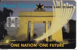 GHANA - One Nation One Futrure, 02/00, Used - Ghana