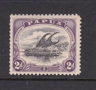 Papua SG 50 1908 Lakatoi 2d Black And Purple Mint Never Hinged - Papua New Guinea