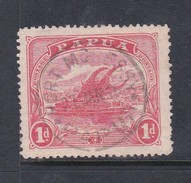 Papua SG 85 1911-15 Lakatoi One Penny Rose-pink Used - Papouasie-Nouvelle-Guinée