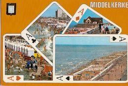 Belgium  & Circulated,Middelkerke, Zee Zand Zon, Putte  (253) - Cartes à Jouer