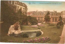 Belgium  & Circulated,  Resende Liége, Montfiore-Levi Et La Gare Du Palais (1913) - Monumentos