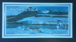 ANTARACTICA 5 DOLLARS BANK NOTE - Bankbiljetten