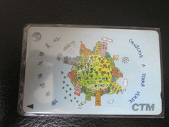 GPT Phonecard,7MACA Protect Earth, Used, From A Set Of 2 - Macau