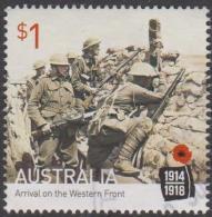AUSTRALIA - USED 2016 $1.00 Centenary Of World War I: 1916 Arrival On The Western Front - 2010-... Elizabeth II