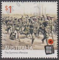 AUSTRALIA - USED 2016 $1.00 Centenary Of World War I: 1916 The Somme Offensive - 2010-... Elizabeth II