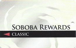 Soboba Casino - San Jacinto, CA USA - BLANK Slot Card - Casino Cards