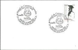 POSTMARKET  ESPAÑA 2016   CERVANTES - Ecrivains