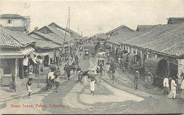 CEYLAN - SRI LANKA - COLOMBO - PETTAH - STREET SCENE - Sri Lanka (Ceylon)