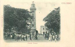 CEYLAN - SRI LANKA - COLOMBO - CLOCK TOWER - Sri Lanka (Ceylon)