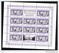 ST. VINCENT ** MNH, 200th. ANNIVERSARY OF AMERICAN INDEPENDENCE.  (6N282) - St.Vincent & Grenadines