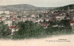 PERIGUEUX : 2 Cartes Colorisées  - L'ancien Moulin De Saint Front Et Une Vue Générale Du Faubourg De Saint Georges - Périgueux