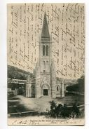 CPA   42  : ST JUST EN CHEVALET   église     A  VOIR  !!!!!!! : - Autres Communes