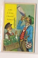 AC - B2612 - Document  Publicitaire  Et Humour Effet Cure à Mondorf  Luxembourg ( 2 Scans) - Advertising