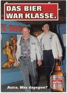 BIERE/BEER/BIER: 'Astra Urtyp' - 'Das Bier War Klasse' - Reclame