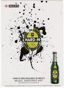 BIERE/BEER/BIER: 'Beck's Bier'- 'Hard-Fi' - Reclame