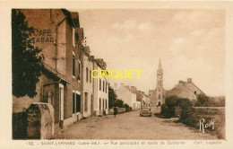 44 St Lyphard, Rue Principale Et Route De Guérande, Café-Tabac, Tacot... - Saint-Lyphard