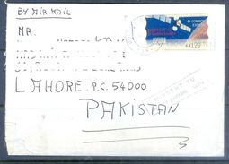 D577- Used Cover Post To Pakistan From Spain. Espana. Space - Spain