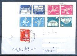 D585- Used Cover Post To Pakistan From  Switzerland. Helvetia - Switzerland