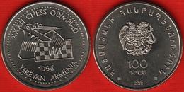 "Armenia 100 Dram 1996 ""Chess Olympiad"" UNC - Armenia"