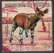 C148a Burundi 1971 Okapi - Preoblit - Okapia Johnstoni Preoblit. - Burundi