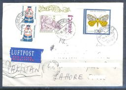 D597- Used Cover Post To Pakistan From Germany. Insect. Butterfly - Germany