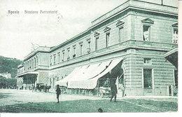 LA SPEZIA - Stazione Ferroviaria, Animata, Viag. 1922 Conannullo Militare - 2017-537 - La Spezia