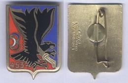 Insigne Du 453e Groupe D'Artillerie Antiaérienne - Esercito