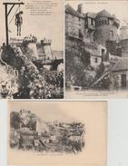 17 / 6 / 267  -    LOT  DE  10  CPA   &  2  CPSM  DE  DOMFRONT  ( 61 ) Toutes Scanées - Postcards