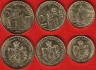 Serbia Set Of 3 Coins: 1 - 5 Dinara 2013 UNC - Servië