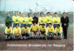 Bruxelles (1020) - Football : Futebolistas Brasileiros Na Belgica - Otilio, Roberto, Paulino, Daniel, Gambassi, Giba... - Personaggi Famosi