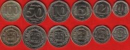 Yugoslavia Set Of 6 Coins: 1 - 100 Dinara 1993 UNC - Joegoslavië