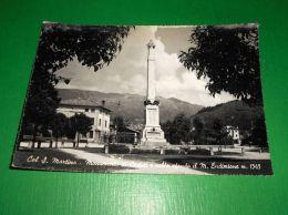 Cartolina Col S. Martino - Monumento Ai Caduti 1950 Ca - Treviso