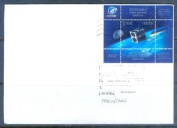 D626- Used Cover Post To Pakistan From Estonia. Space. - Estonia