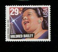 319104818 USA  1994 ** MNH  SCOTT 2860 Jazz Singers MILDRED BAILEY - Unused Stamps