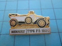 Pin1417 Pin's Pins / RENAULTTYPE FS 1920 Léger Relief , SUPERBE Marque CEF PARIS Au Dos - Renault