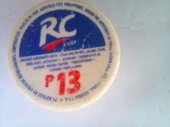 Philippines RC Cola 13 And 14 Pesos Plastic - Soda