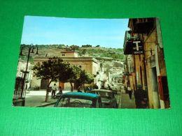 Cartolina Vallelunga - Piazza Umberto E Via Garibaldi 1969 - Caltanissetta